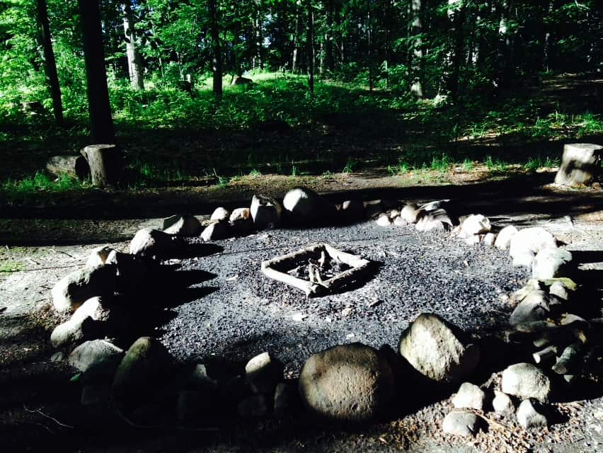 Main campfire nearby